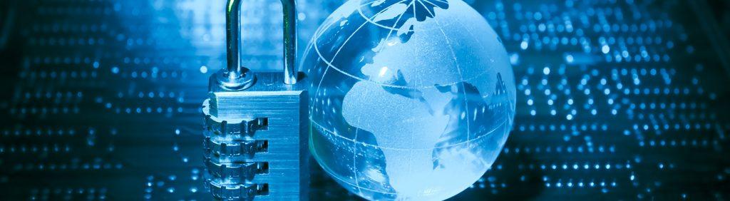 Datenschutz Internet Sicherheitsschloss - Girges Consulting